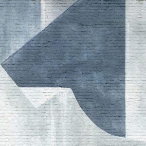 carta da parati algar colore blu