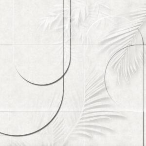 Carta da parati Atrium colore bianco