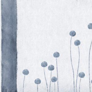 carta da parati buttons blu