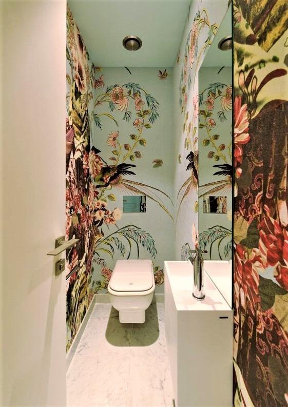 Carta da parati per il bagno: come sceglierla?